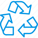 recycling, sign, webby icon