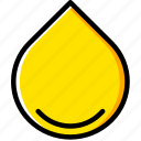 drop, ecology, enviorment, nature, oil icon