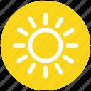 .svg, brightness, shining sun, sun, sunny day, sunshine, weather icon