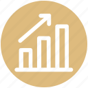 .svg, arrow, bar, business, chart, growth, up icon