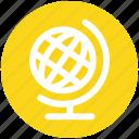 3, earth, globe, streamline, world, world globe icon