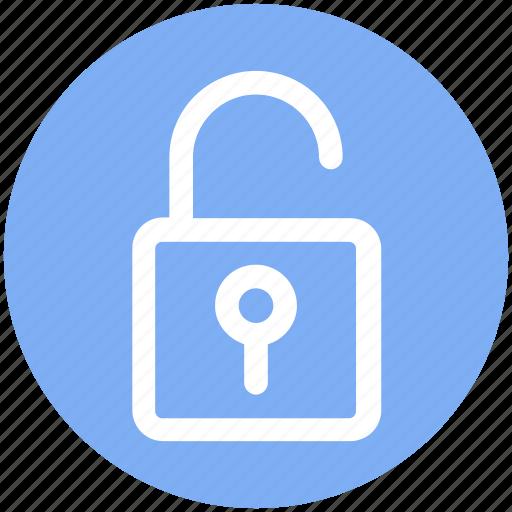 .svg, lock, open, padlock, security, unlock icon