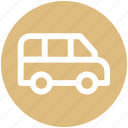 .svg, delivery van, school van, transport, van, vehicle icon