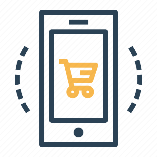 cart, device, ecommerce, finance, mobile, offer, shop icon