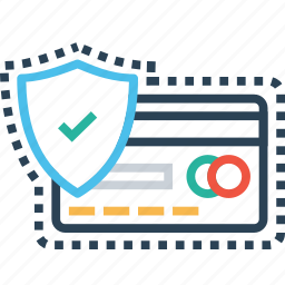 card, credit, debit, lock, protect, secure, transaction icon