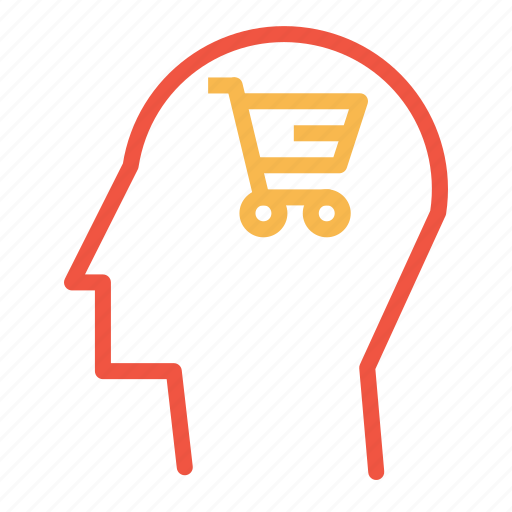 brain, cart, discount, sale, shop, shopping, user icon