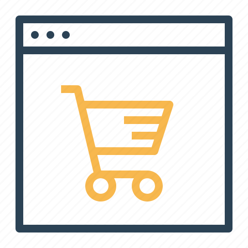 cart, device, discount, finance, offer, shop, window icon