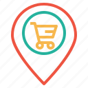 cart, ecommerce, finance, location, navigation, offer, shop icon