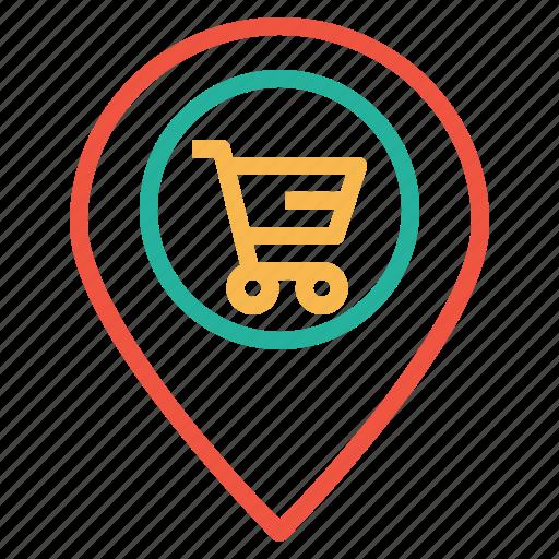 cart, ecommerce, finance, location, navigation, offer, shop icon