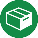 box, goods, on, ordering, ship, shipping, way icon