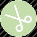 .svg, cut, cutting symbol, cutting tool, edit sign, scissor, tool icon
