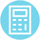 .svg, calc, calculator, education, machine, math, stationery icon