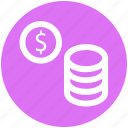 .svg, coin, coins, currency, dollar, gambling chips, money icon