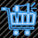 megaphone, shopping, advertising, commerce, business, promotion, marketing