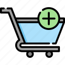 shopping, cart, ecommerce, app, shop, web, store