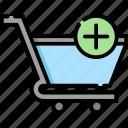 shopping, cart, ecommerce, app, shop, web, store