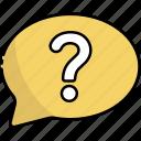 question, help, support, faq, info, information