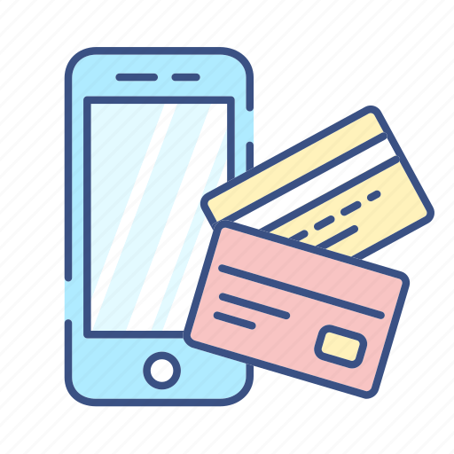 card, card icon, commerce, credit card, new, phone, phone icon icon