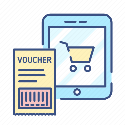 buy, discount, gift, new, online shopping, voucher, voucher icon icon