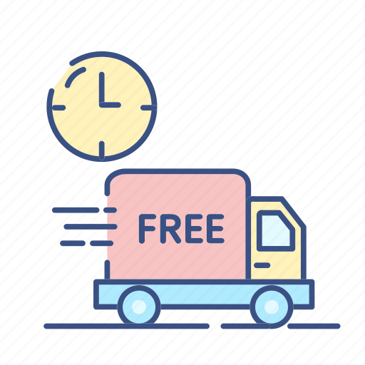 Clock, deliver, deliver icon, discount icon, free deliver, new, transport icon - Download on Iconfinder