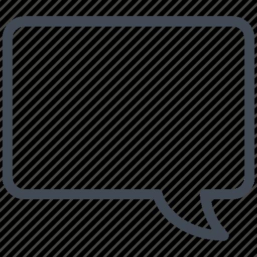 Bubble, chat, cloud, communication, conversation, message, talking icon - Download on Iconfinder
