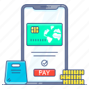 card payment, credit card, digital payment, ebanking, online payment icon