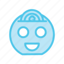 coin, dollar, ecommerce, monetize, money, saving, smile icon