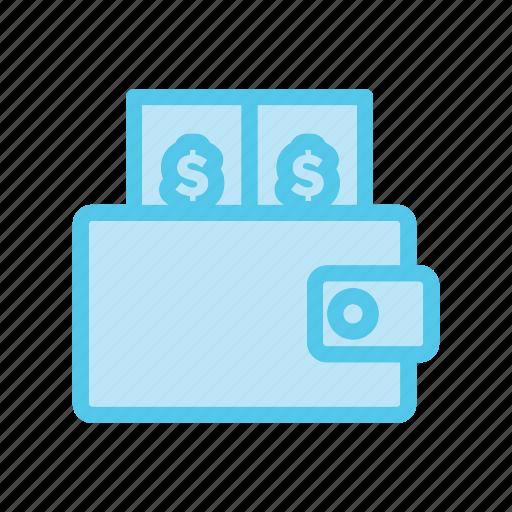dollar, ecommerce, market, money, shop, shopping, wallet icon