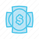 cross, dollar, e shop, ecommerce, market, money, shop icon