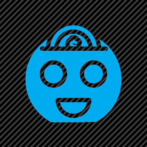 coin, dollar, ecommerce, emoticon, money, saving, smile icon