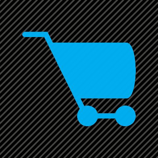 ecommerce, mall, market, market place, shop, trolley, wheel icon