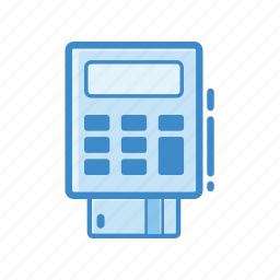 cash register, credit card, payment, point of sale, pos, till icon