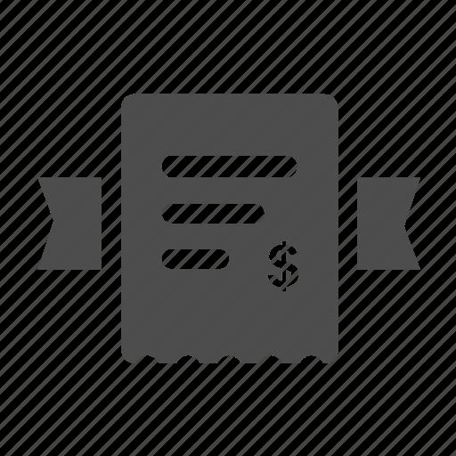 bank, buy, ecommerce, invoice, money, shop, shopping icon