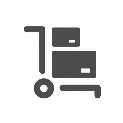 cart, delivery, logistics, package, packages, shipping, shop icon