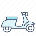 bike, scooter, vespa icon