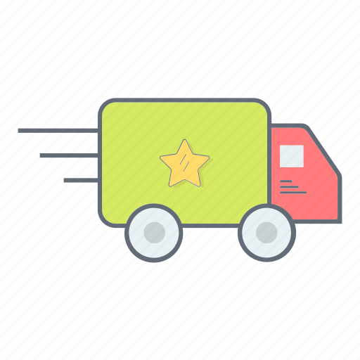 car, delivery, shipping, shopping, transport, transportation, truck icon