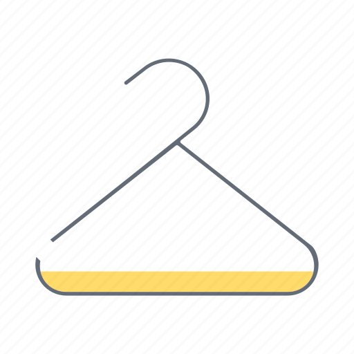 cloth, clothes, clothing, dress, fashion, hanger, wear icon