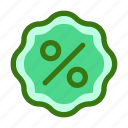 commerce, discount, ecommerce, percent, price, sale, tag icon