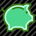 bank, commerce, ecommerce, money, pig, piggy, saving