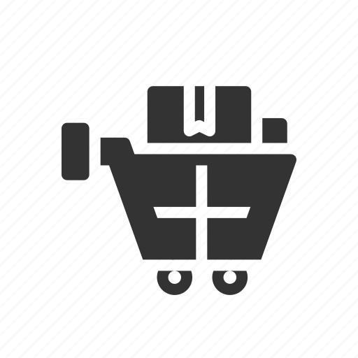 bucket, cart, ecommerce, shopping, trolley icon