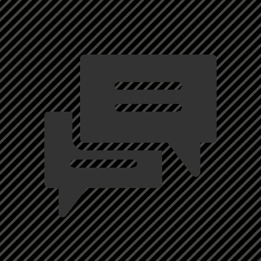 chat, communication, contact, ecommerce, shopping, talk, transaction icon