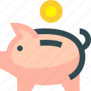 piggy, saving, piggybank, bank