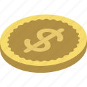 coin, commerce, dollar, sales, shopping icon