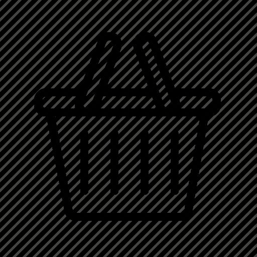 bag, basket, buy, cart, ecomerce, shopping, summer icon