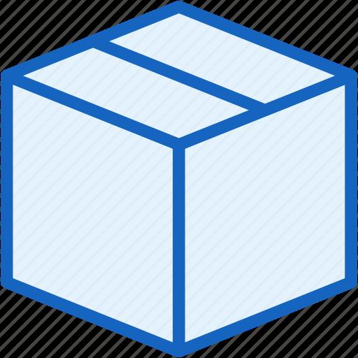 box, commerce, delivery, e icon