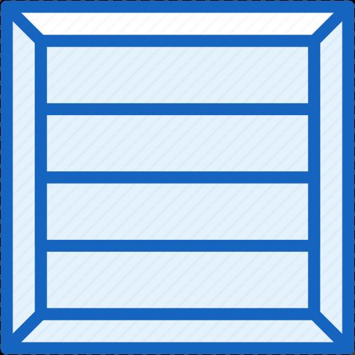 box, cargo, commerce, e, shipping icon