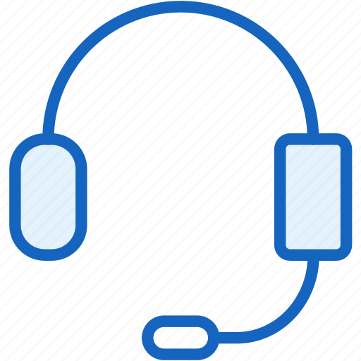 commerce, e, headphones, mic icon