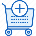 add, buy, cart, commerce, e, plus icon