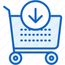 buy, cart, commerce, e icon