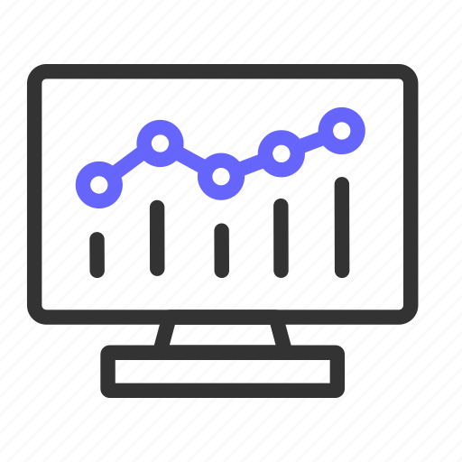 analytic, ecommerce, graph icon
